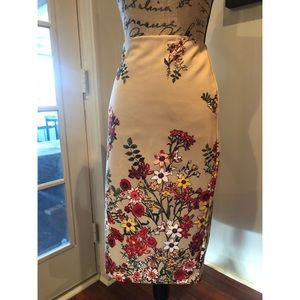 Pencil Skirt (beige) #shesdarlin